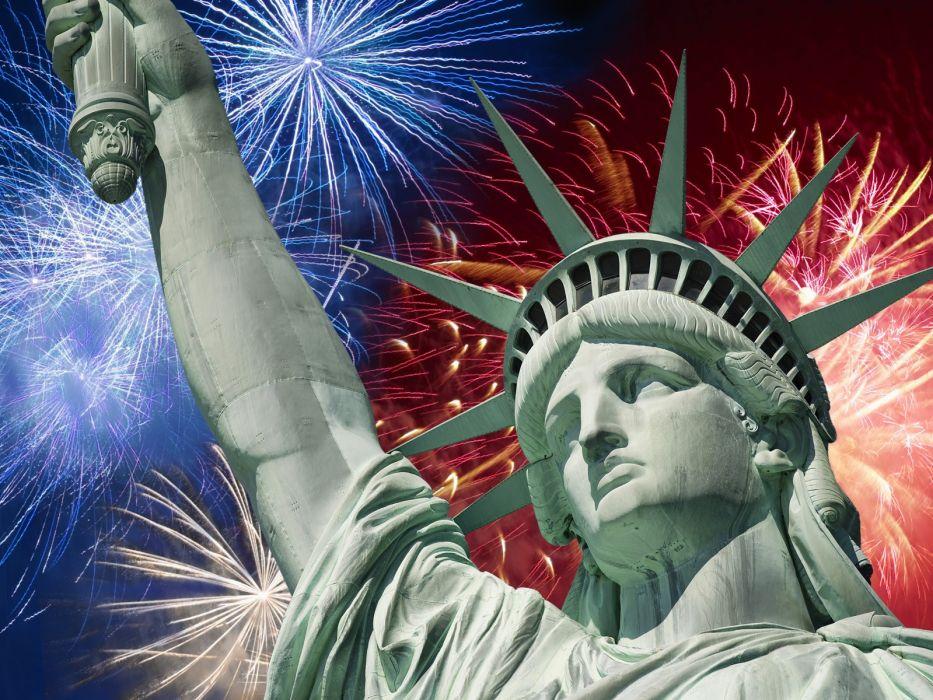 Statue of Liberty statues July liberty wallpaper