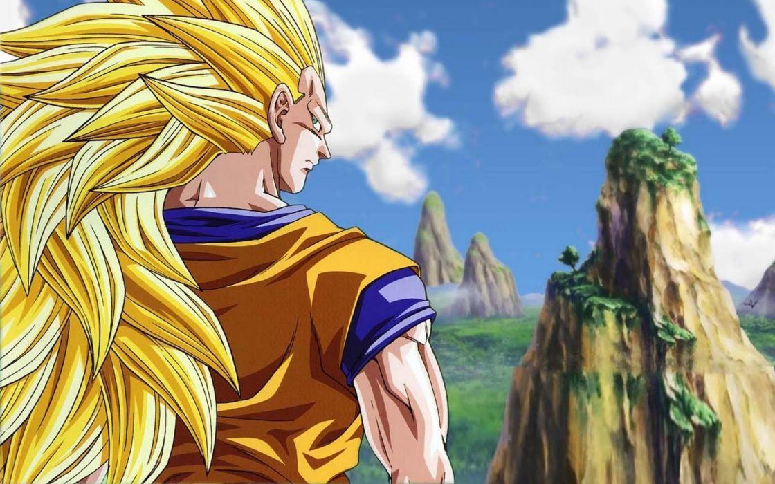 Son Goku anime Dragonball wallpaper