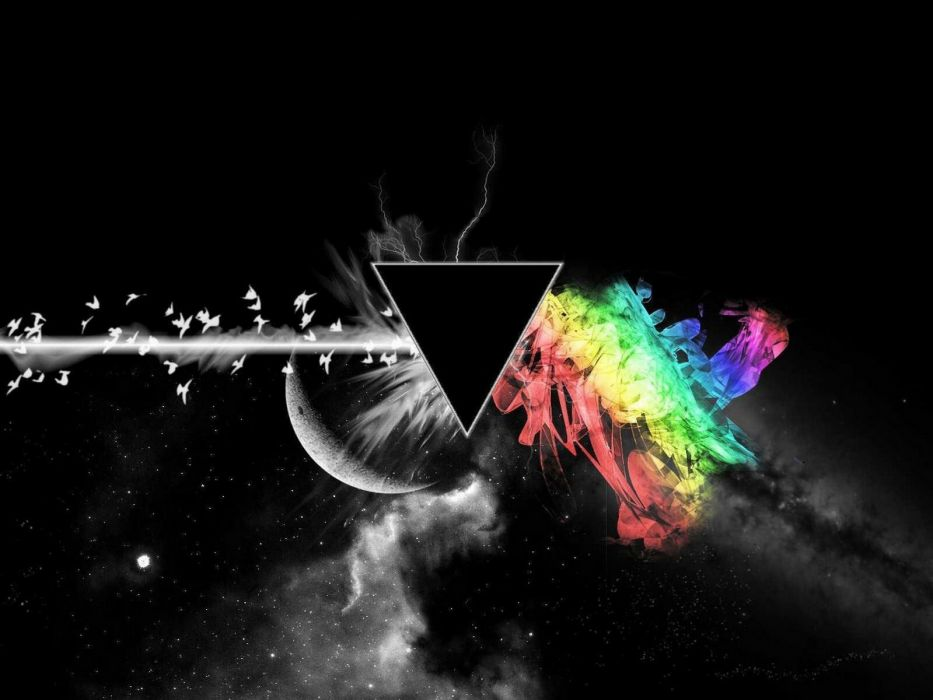 abstract prism colors wallpaper