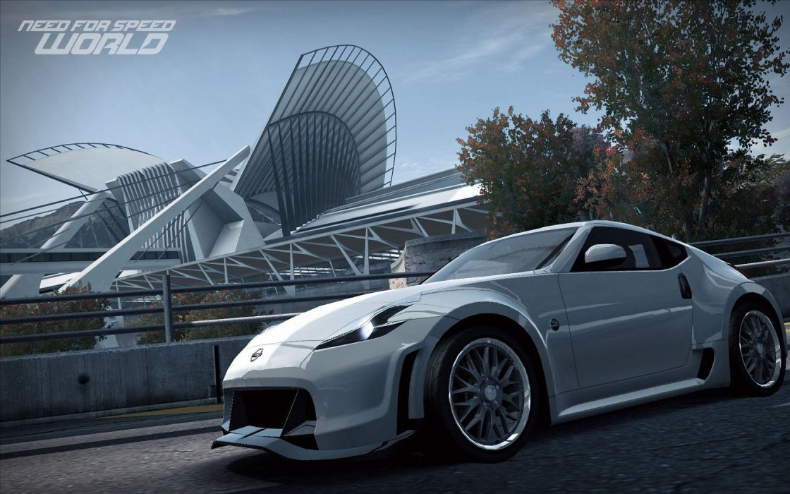 video games cars Need for Speed Nissan 370Z Need for Speed World games pc games wallpaper