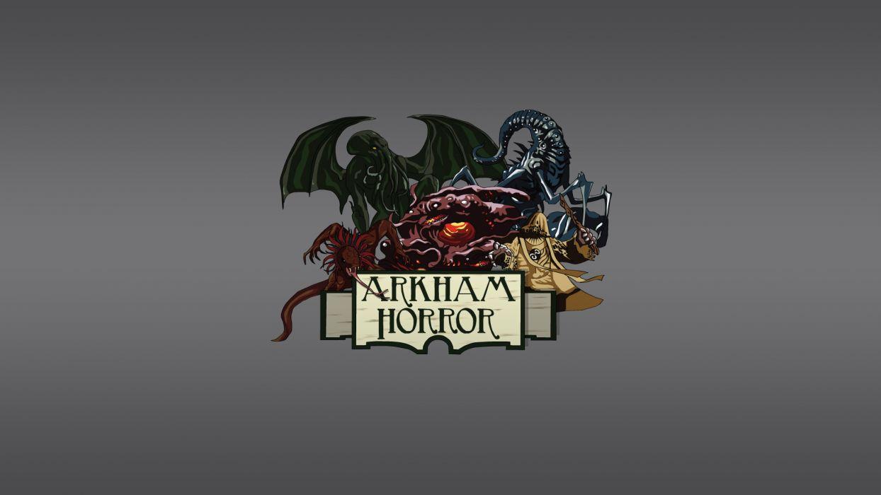 Arkham Horror Cthulhu Monster batman wallpaper