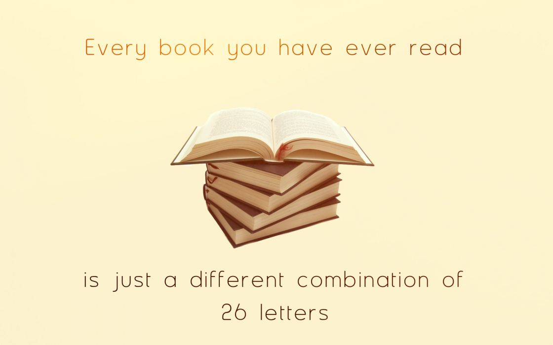 Book Letters wallpaper
