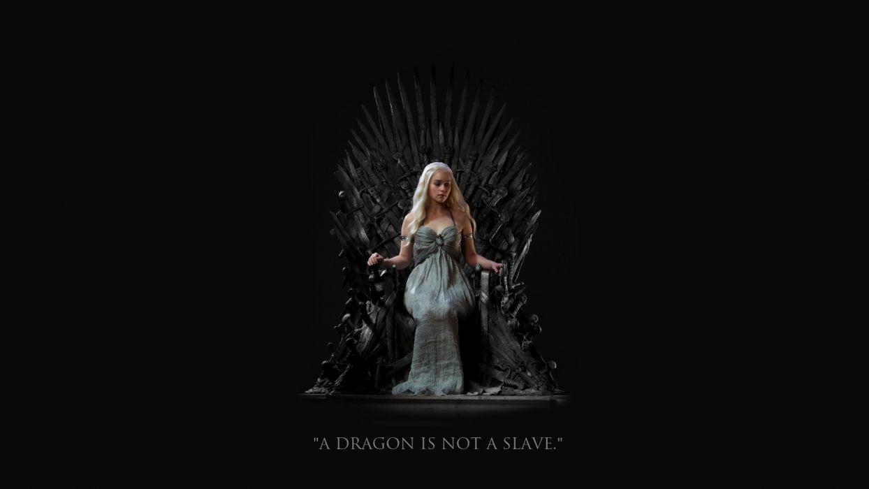 Game of Thrones fantasy dragon wallpaper