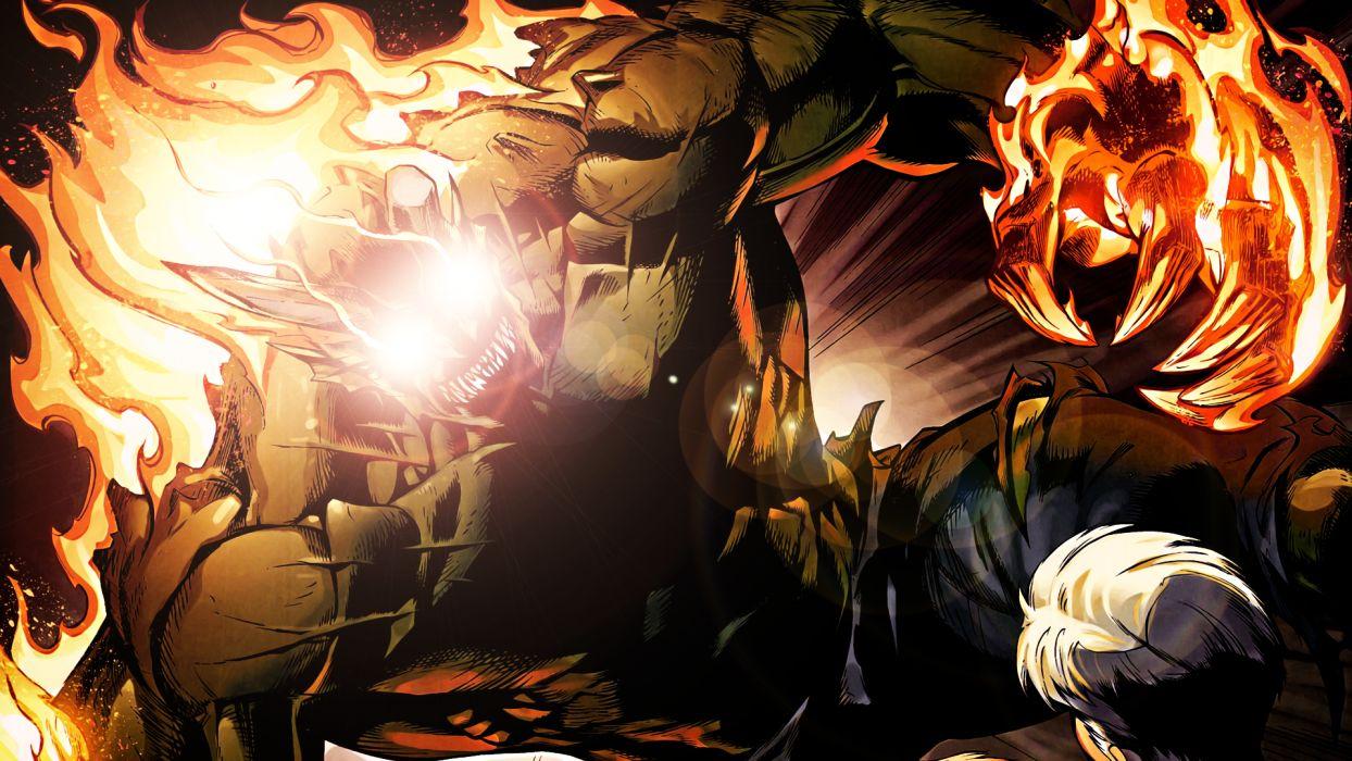 Hobgoblin SpiderMan Fire Marvel wallpaper