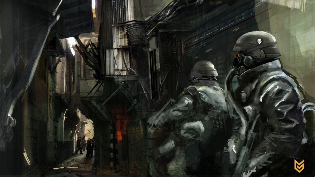 Killzone Drawing wallpaper