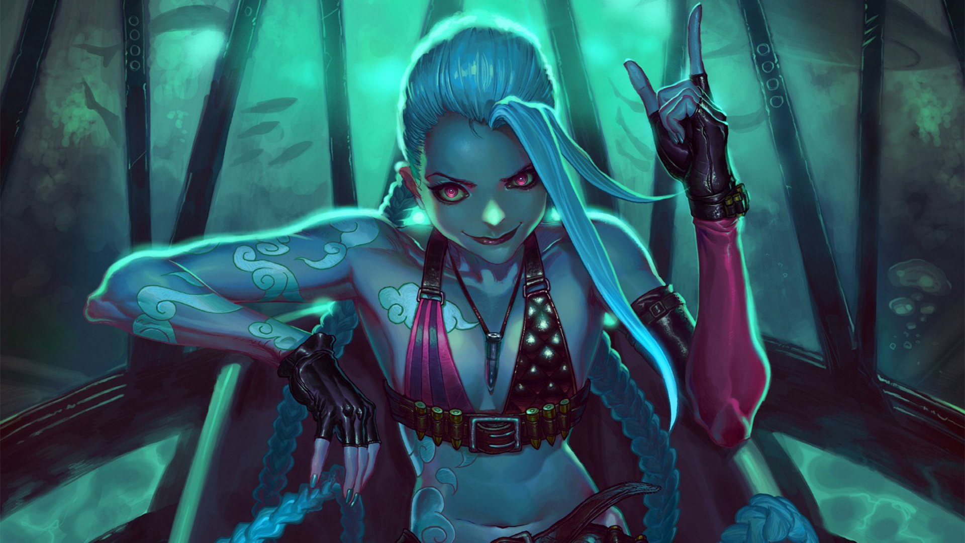 League Of Legends Jinx Wallpaper