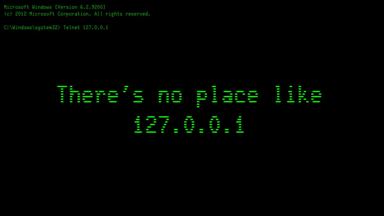 Localhost Home Black IP Address computer wallpaper