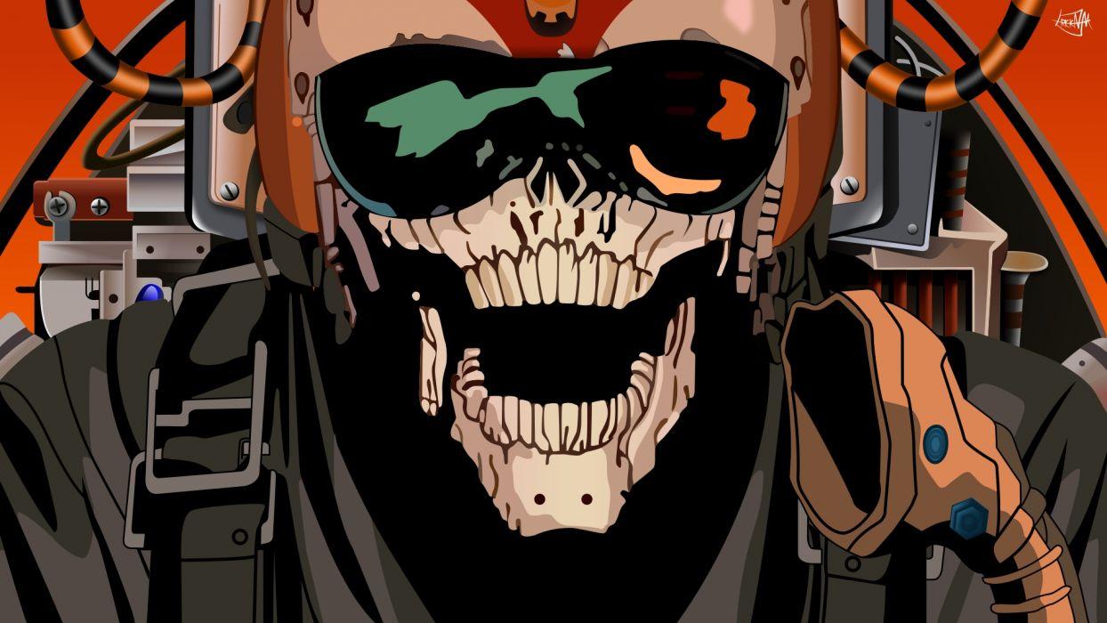 Pearl Jam Skull Skeleton dark sci-fi      f wallpaper