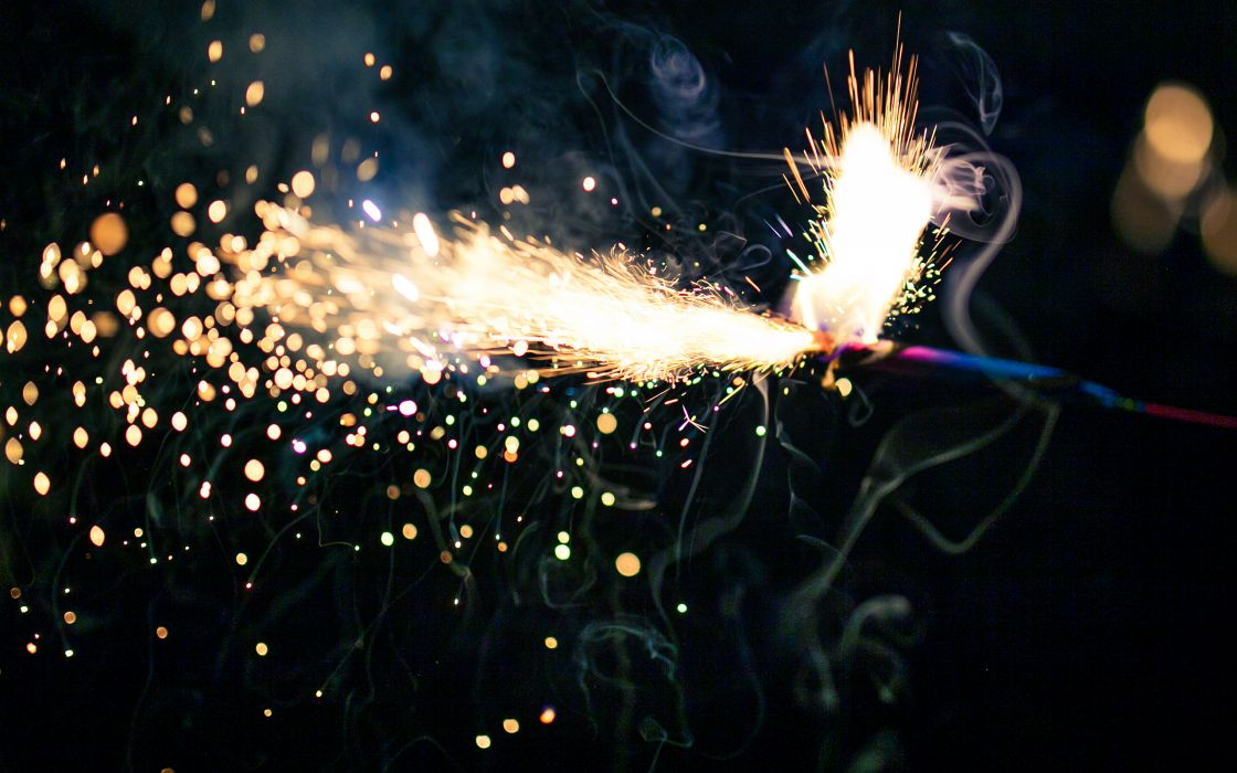 Sparks Timelapse Sparkler wallpaper