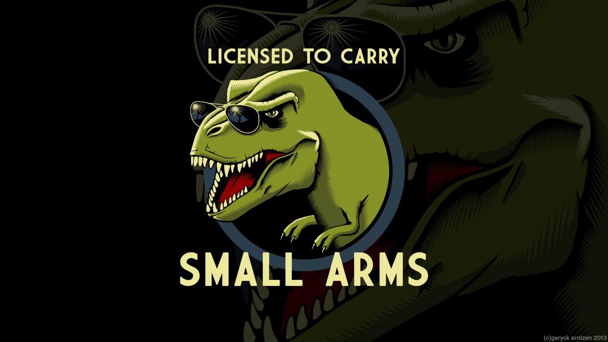 T-Rex Small Arms Arms Sunglasses dinosaur wallpaper