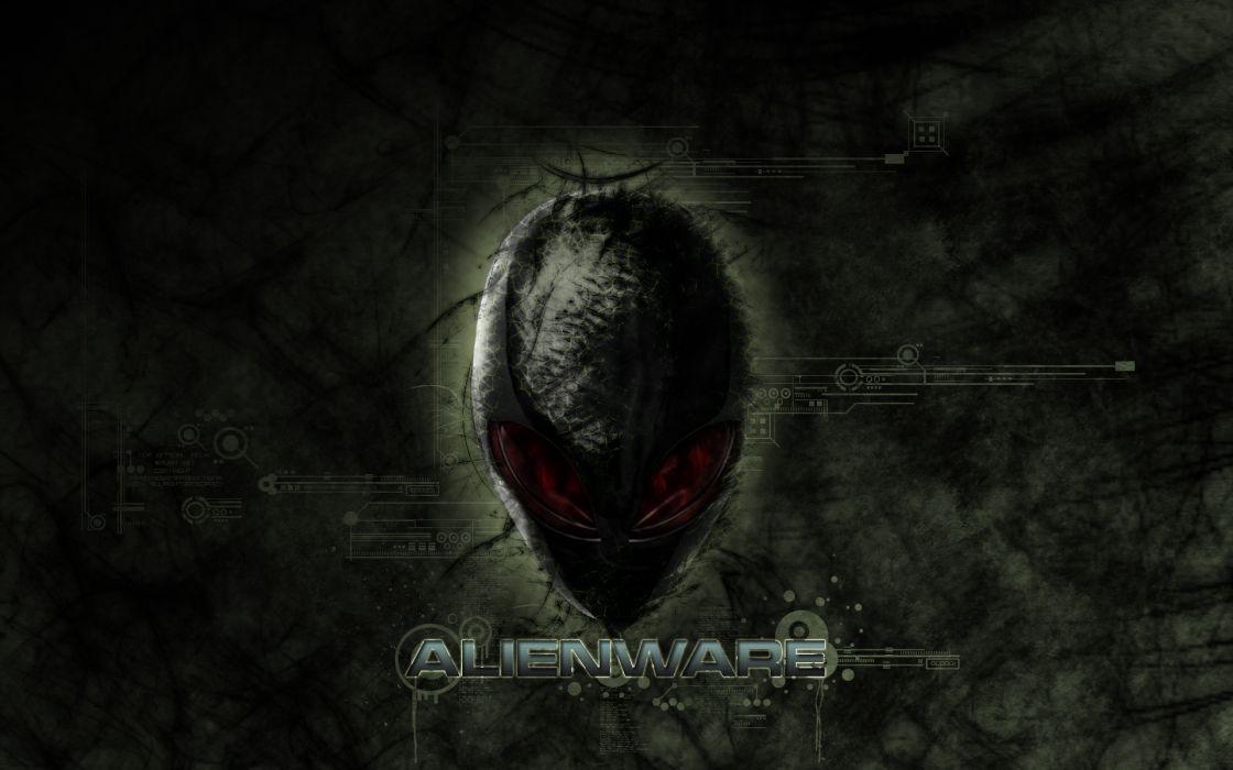 ALIENWARE computer alien (3) wallpaper
