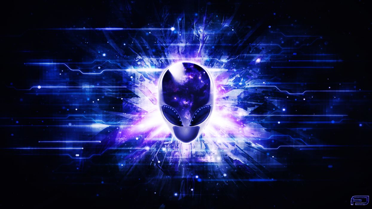 ALIENWARE computer alien (2) wallpaper