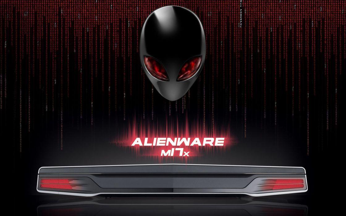 ALIENWARE computer alien (5) wallpaper