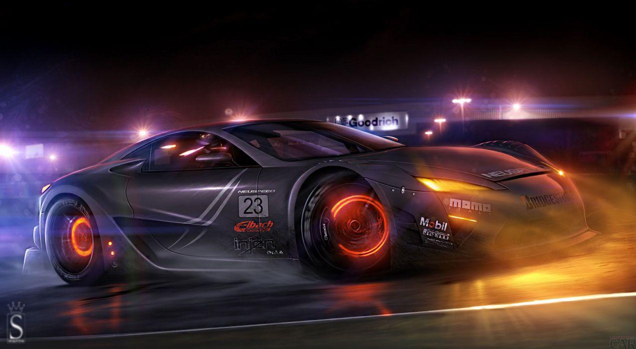 Lexus LFA GTE wallpaper