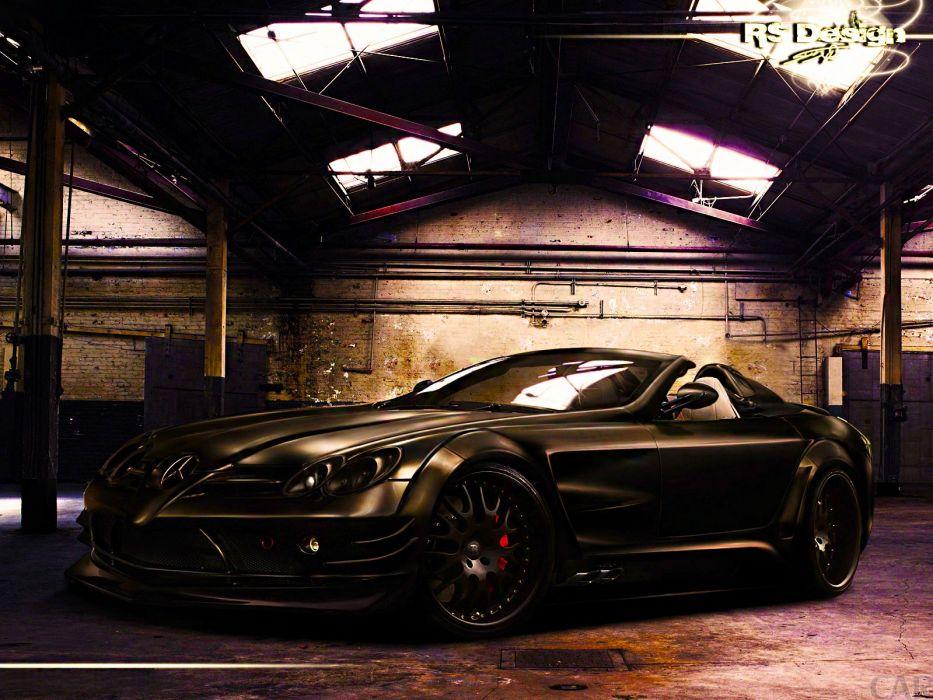 roadster SLR Mercedes-Benz wallpaper