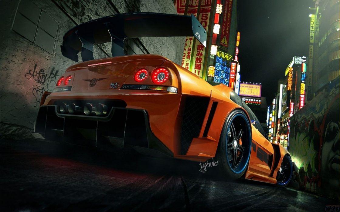 Nissan Skyline GT-R Z wallpaper