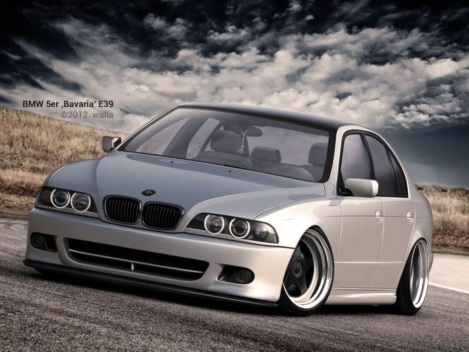 BMW 5 ER Baviera E 39 wallpaper