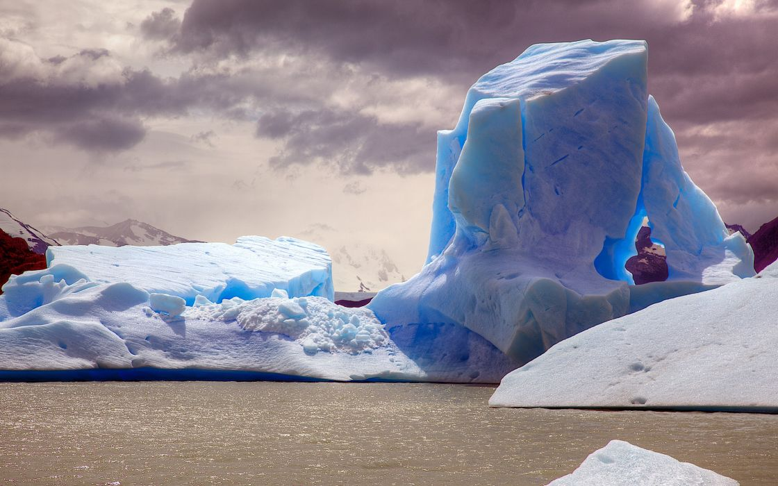 ice landscapes wallpaper
