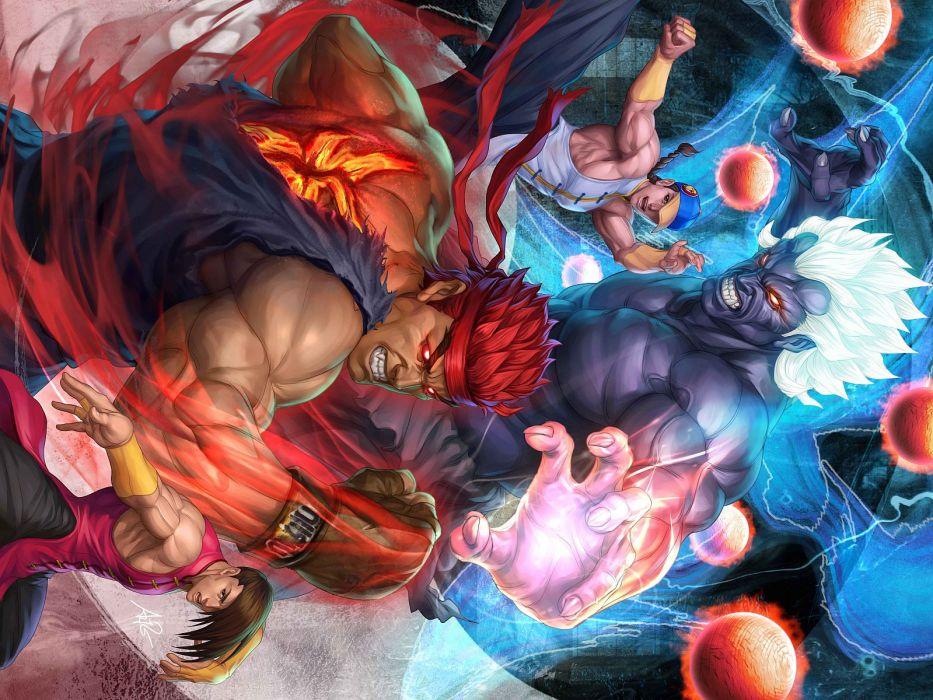 Street Fighter Artgerm Evil Ryu wallpaper
