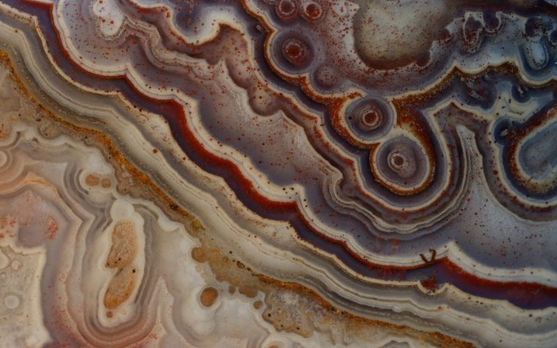 close-up geode wallpaper