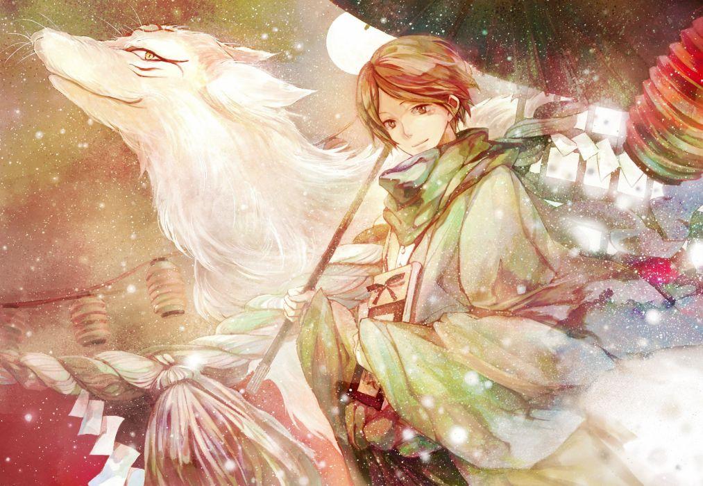 anime anime boys Natsume Yuujinchou Natsume Takashi wallpaper