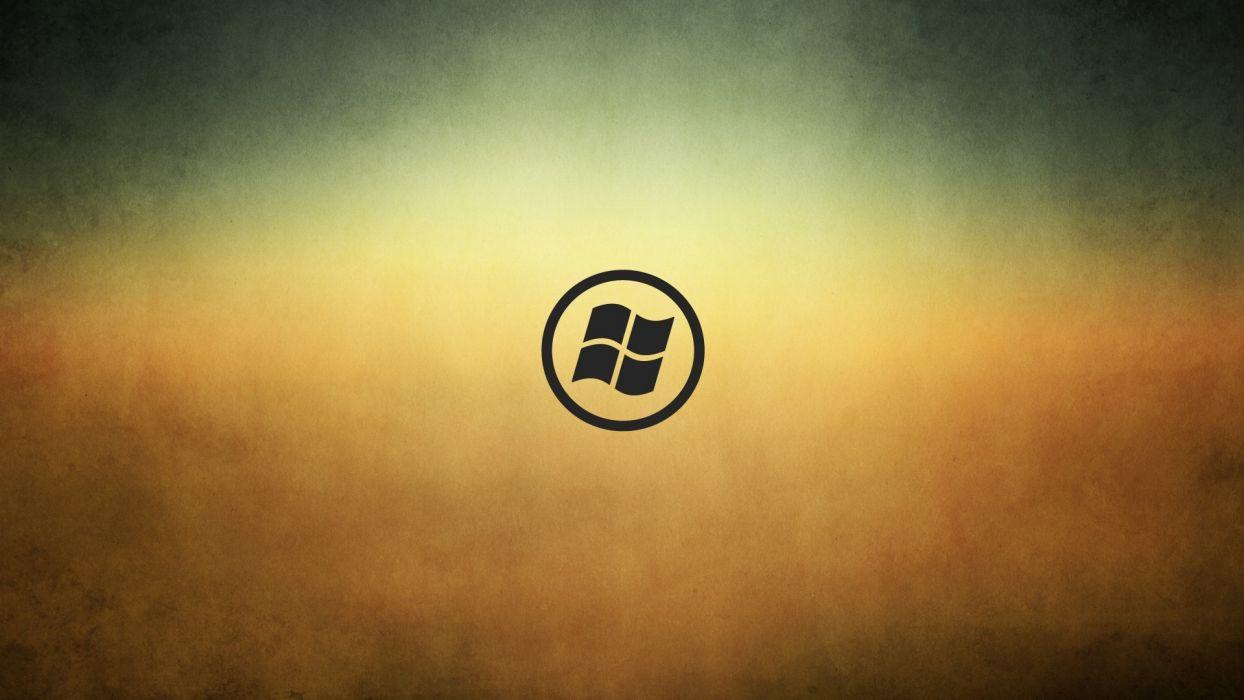 minimalistic Windows 7 Windows XP flags basic Microsoft Windows logos window panes wallpaper