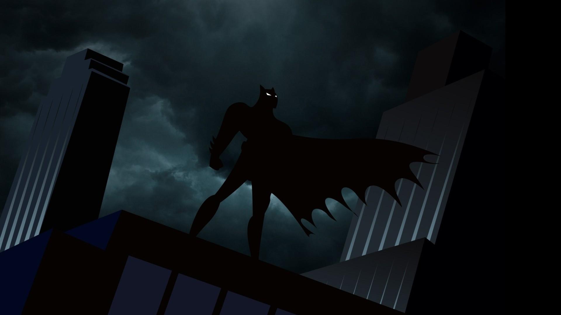 Cartoon network batman dc comics the dark knight batman - Batman wallpaper cartoon ...