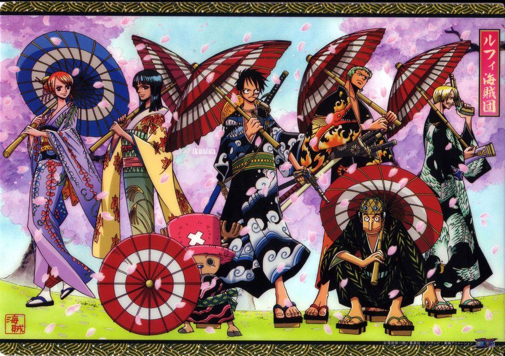 One Piece (anime) wallpaper