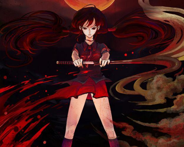 Blood-C wallpaper