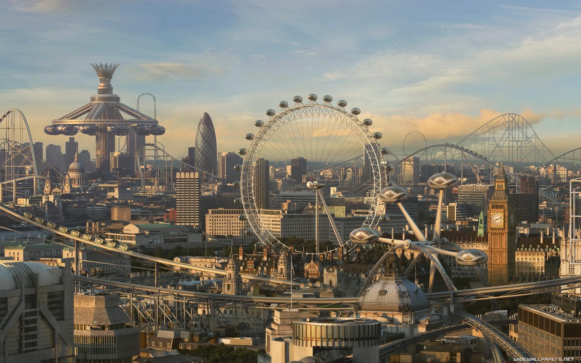 cityscapes futuristic wallpaper 1900x1041 - photo #41