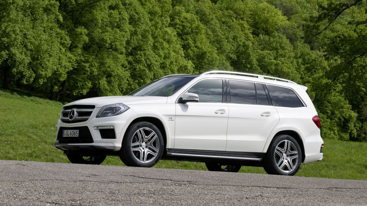 AMG Mercedes Benz Mercedes GL wallpaper