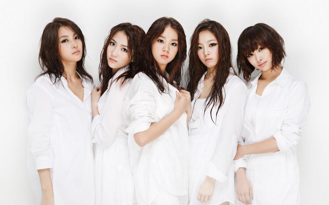 Asians K-Pop band bangs Kara (band) wallpaper