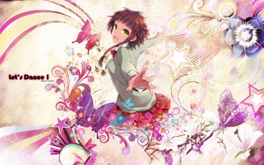 women dance anime manga anime girls wallpaper