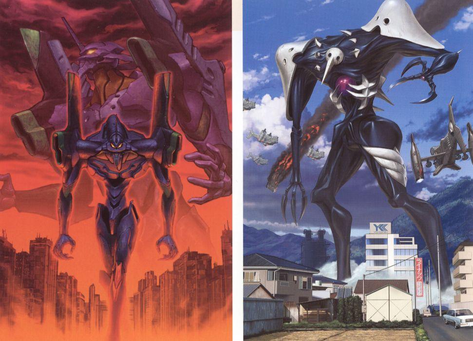 Neon Genesis Evangelion Wallpaper 5224x3766 219823