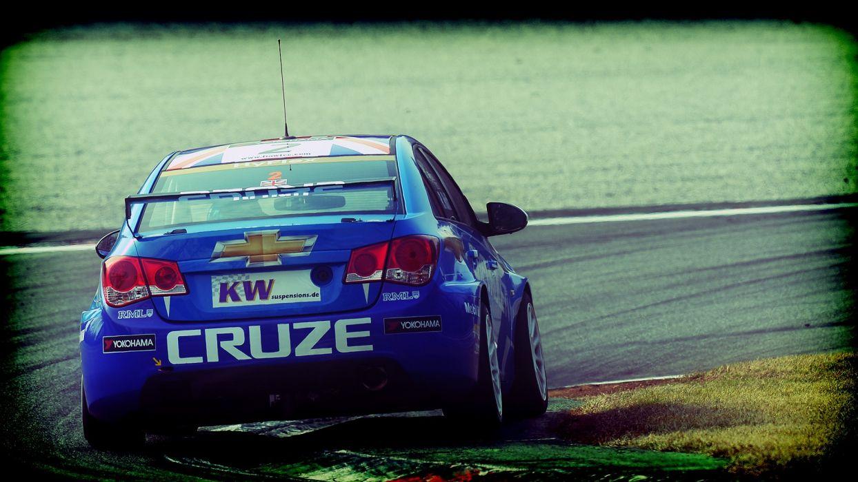 cars racing Chevrolet Cruze motorsports wtcc wallpaper