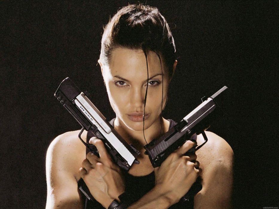 Movies Angelina Jolie Tomb Raider Lara Croft Wallpaper