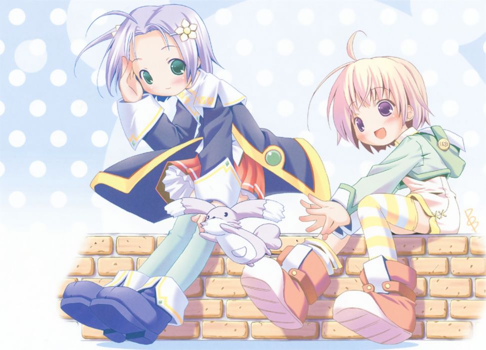 Nana magical anime girls scans Milky Hiiragi wallpaper
