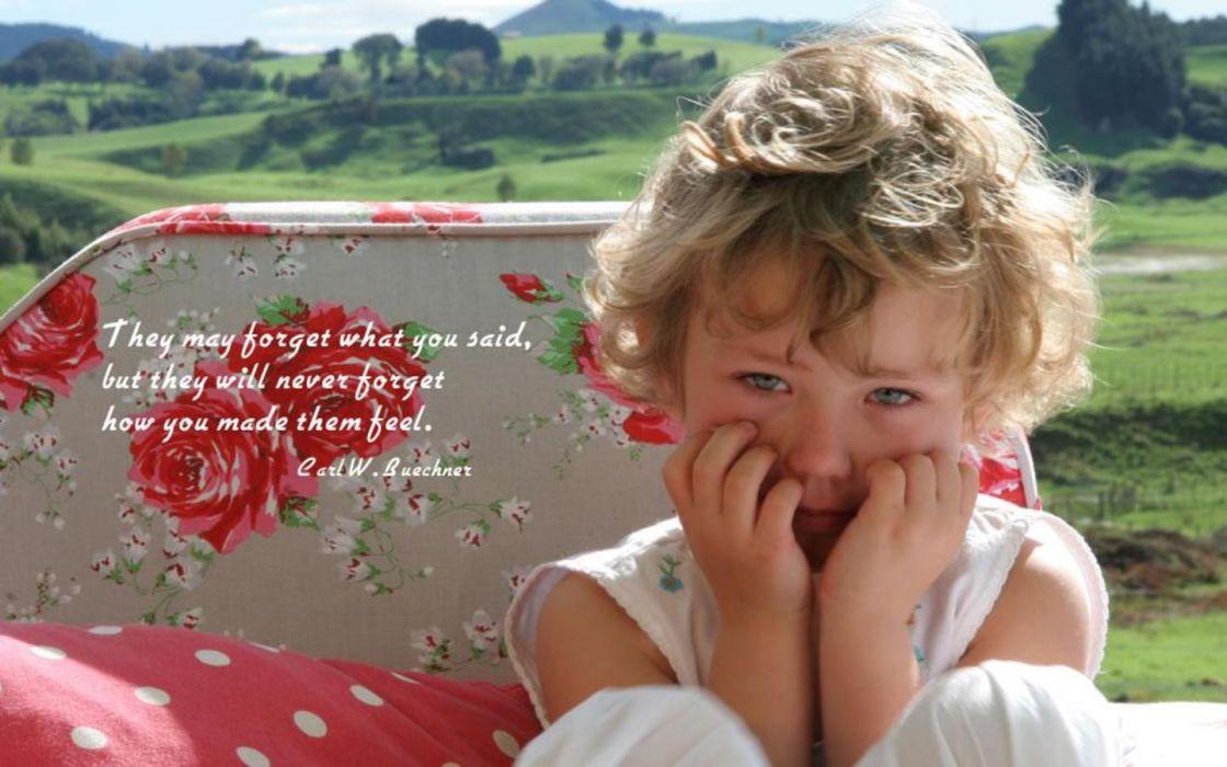 crying children wallpaper