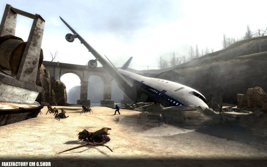 video games Half-Life 2 wallpaper
