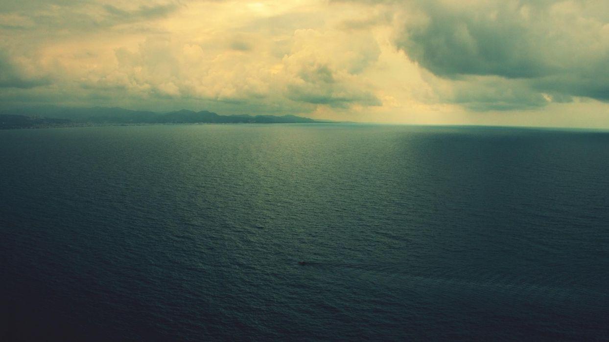 water minimalistic sea wallpaper