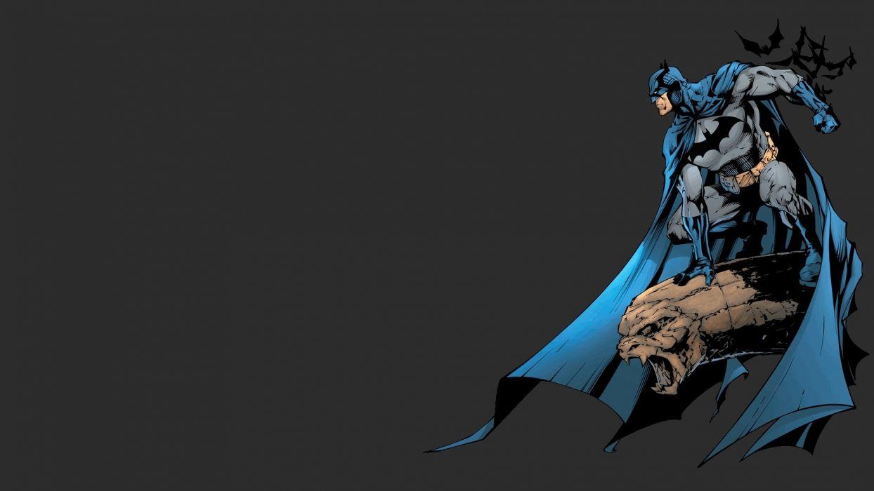 Batman minimalistic DC Comics artwork wallpaper