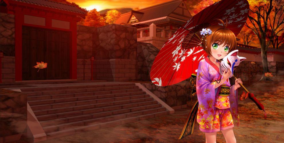 card captor sakura japanese clothes kinomoto sakura moonknives f wallpaper