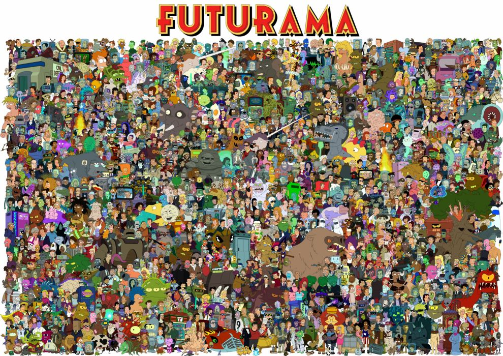 Futurama f wallpaper
