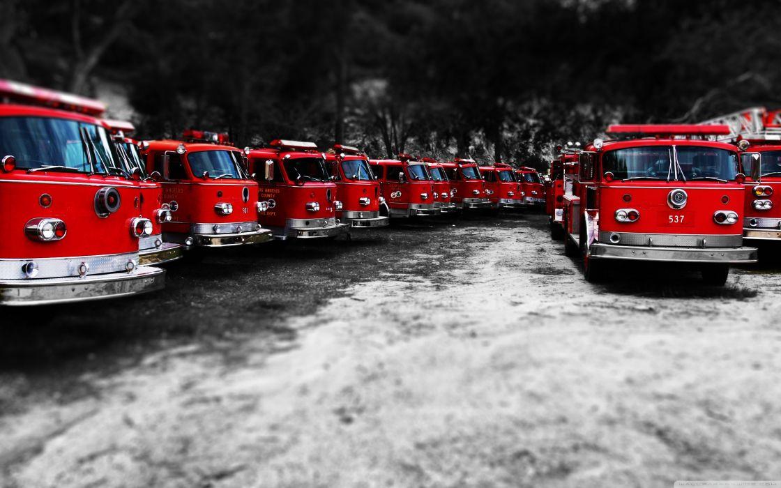 Fire Trucks wallpaper