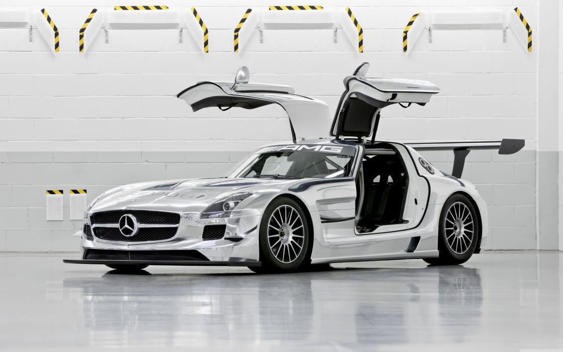 Mercedes Benz SLS AMG GT3 wallpaper