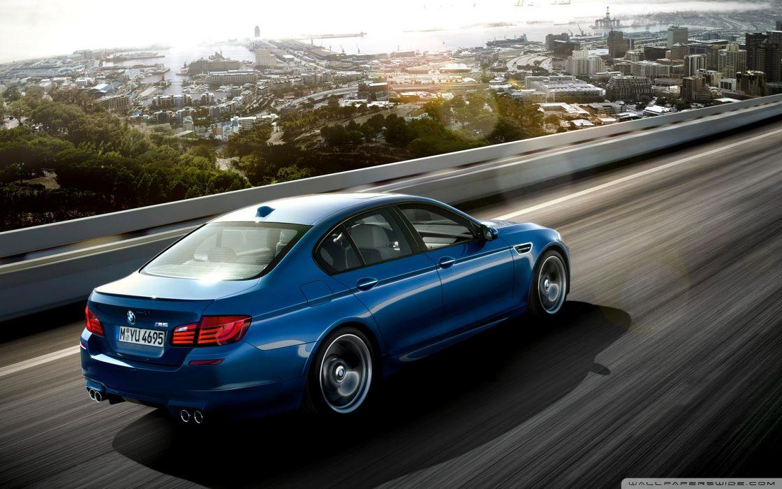 BMW M5 Blue Ride wallpaper