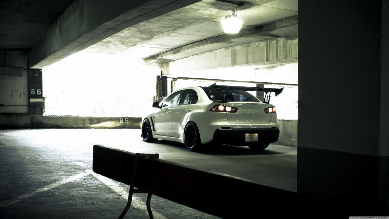 Mitsubishi Evo X - Rear wallpaper