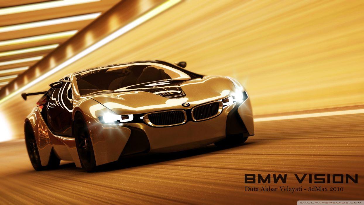 BMW Vision 3D Max wallpaper