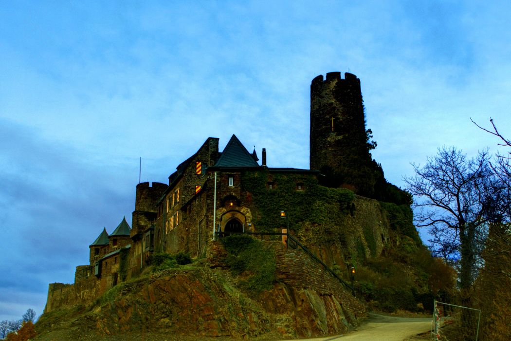 Castle Germany Thurant wallpaper
