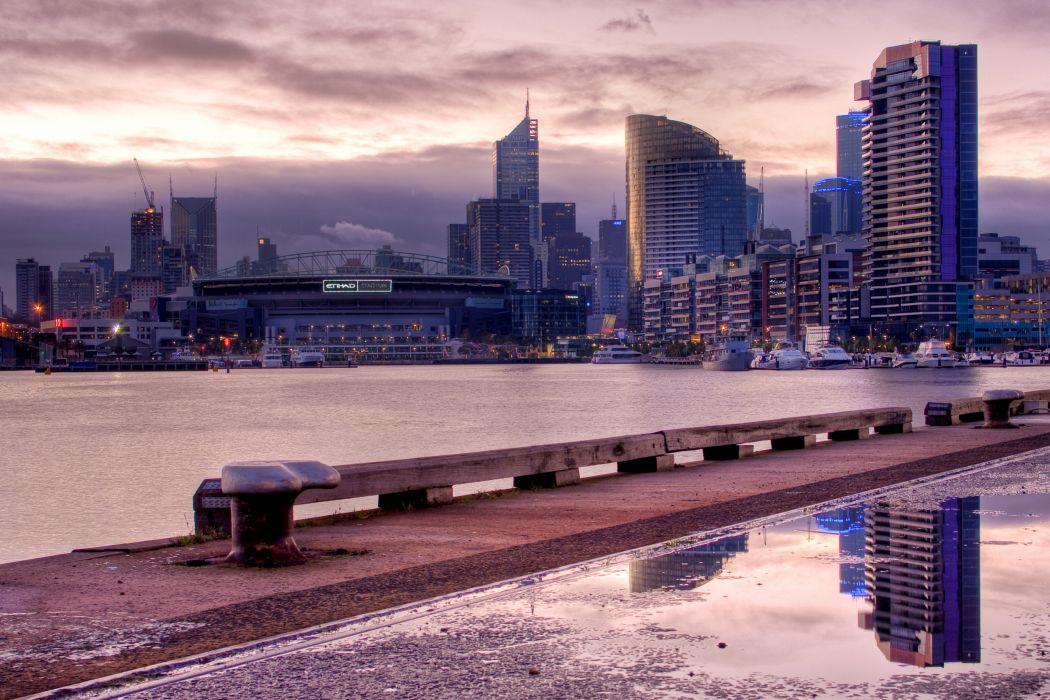 Docklands Melbourne Australia wallpaper